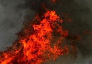 Во Львовской области неизвестные сожгли авто главреда газеты