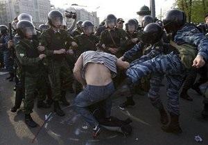 Фотогалерея: Радикализация протеста. Марш миллионов в Москве завершился массовыми столкновениями
