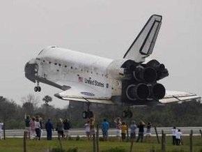 Экипаж Discovery вернулся на Землю