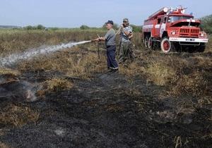 Глава Госкомлесхоза о пожарах в Украине: Сравнивать ситуацию с Россией пока не приходится