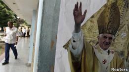 Папа Бенедикт прибыл на Кубу с долгожданным визитом