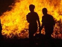 В Киеве потушен пожар близ посольства Норвегии