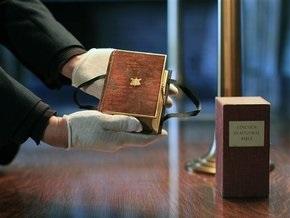 Обама присягнет на Библии, использовавшейся при инаугурации Линкольна