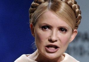 Тимошенко: Для нас закрыто телевидение и радио