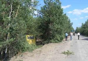 В Житомирской области школьный автобус попал в ДТП: трое детей госпитализированы