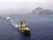 Южная Корея проводит военные учения возле островов, на которые претендует Япония