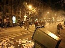 Беспорядки охватили Будапешт в годовщину революции
