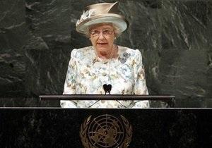 Елизавета II рассказала в ООН о секретах успешного лидерства
