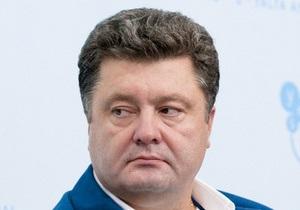 Порошенко заявил, что не финансирует Яценюка