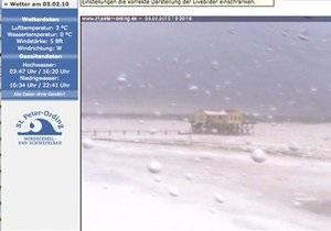 Замерзающего на берегу Северного моря туриста спасли благодаря веб-камере