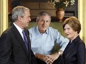 Лора Буш не считает президентство супруга провальным
