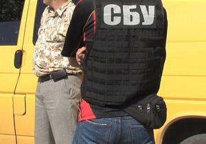 СБУ задержала при получении взятки в 20 тысяч долларов двоих чиновников в Киевской области