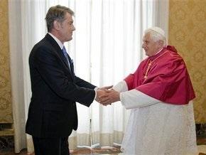 РГ: Президент Украины пожалуется Папе