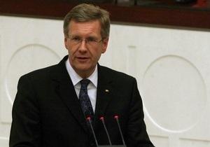 Подавший в отставку президент Германии будет получать пенсию в 199 тысяч евро в год