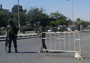 В Сирии автомобиль миссии наблюдателей ООН подорвался на фугасе