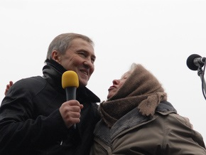 Черновецкий на ипподроме признался в великой любви ко всем