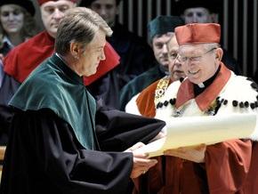 Ющенко стал доктором Люблинского университета