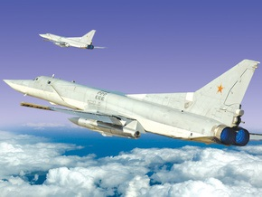 Российские бомбардировщики подняли в воздух японскую авиацию