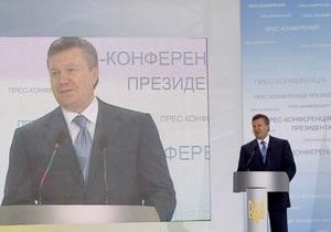 Янукович обещает возвратить НДС добросовестным налогоплательщикам