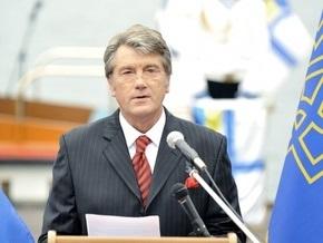 Ющенко усомнился в законности российских проектов в Украине