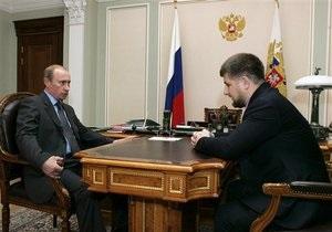 Путин: Ситуация в Чечне в надежных руках