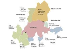 Швейцария готова присоединить к себе соседние регионы