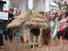 Прогнозы львовского сурка Мишки совпали с мнением харьковского  коллеги