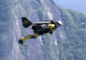 Реактивный человек пролетел над Рио