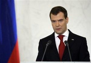 Медведев: Россия сознательно не применила право вето на резолюцию СБ ООН по Ливии