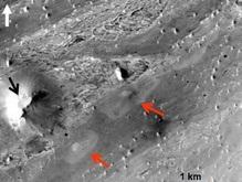 На Марсе, возможно, обнаружены гидротермальные источники