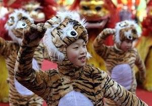 Обама поздравил всех с наступающим Годом тигра