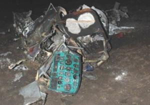 В Сумской области упал вертолет: погиб человек