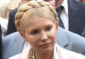 Тимошенко намерена устроить в ГПУ собственный допрос