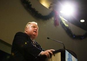 Мэра Торонто отстранили от должности