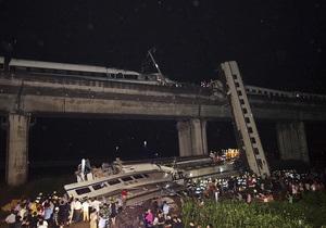 Причиной столкновения поездов в Китае могла стать молния