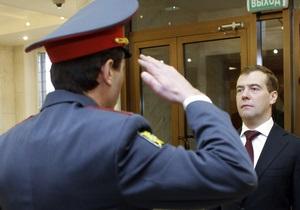 Медведев назвал штатную численность МВД РФ, предусмотренную полицейской реформой