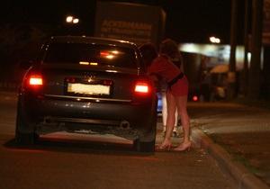 В Харькове милиция задержала более 50 проституток