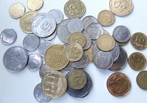 Госстат: Инфляция в Украине в 2010 году составила 9,1%
