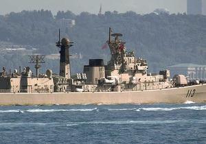 В Севастополь прибыл китайский эсминец Циндао