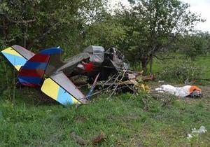новости Киева - авиакатастрофа - крушение Як-52 - По факту авиакатастрофы под Киевом возбуждено уголовное дело