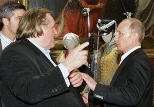 Новости России - Депардье: Жерар Депардье рассказал о жизни в Грозном и сравнил Путина с Иоанном Павлом II