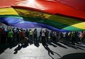 гомосексуализм - Возле Госдумы РФ полиция разгоняет сторонников и противников закона о запрете пропаганды гомосексуализма