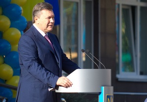 Янукович подписал законы о тарифах и акцизе на топливные компоненты