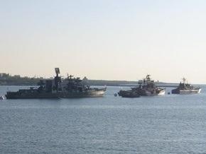МИД Грузии: Из Севастополя в направлении Абхазии выдвинулись три корабля