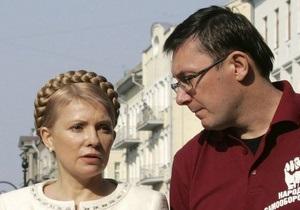 Высший админсуд постановил, что фамилий Тимошенко и Луценко в бюллетенях не будет