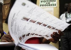 На выборах в Нигерии победил действующий президент