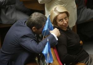 Фракция ПР изберет нового лидера после инаугурации Януковича