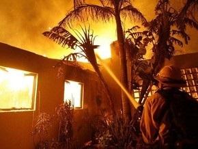 Площадь пожаров в Калифорнии продолжает увеличиваться