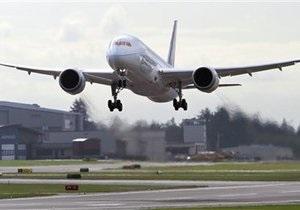 В США во время испытаний Boeing-787 Dreamliner совершил аварийную посадку