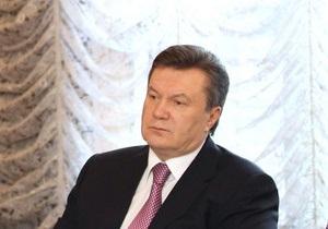 Янукович требует усилить работу для раскрытия дела о взрывах в Макеевке